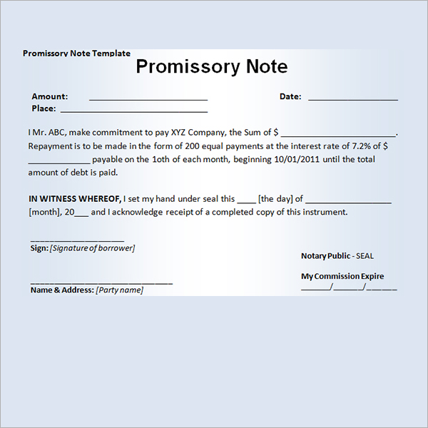 How To Avoid Costly Mistakes With A Promissory Note